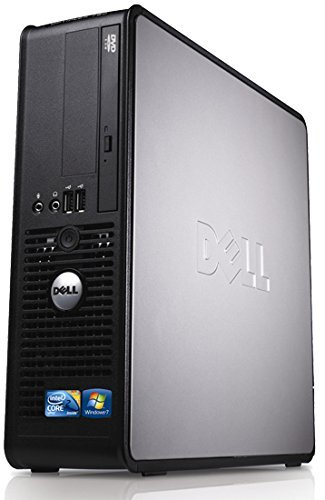 Dell Optiplex Desktop PC, Dual Core, 4GB Ram, 160GB Hard Drive, DVD, WiFi enabled Windows 10 (Renewed)