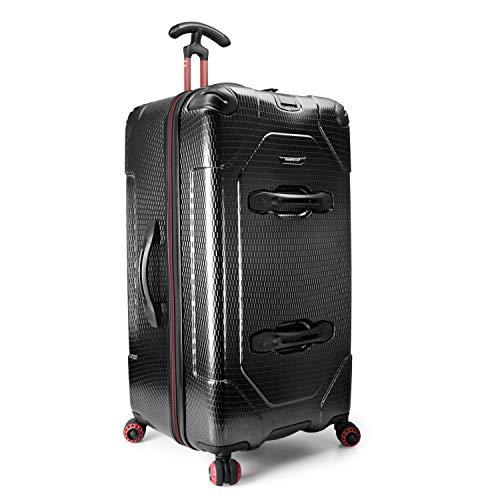 Traveler's Choice Maxporter 30' Hardside Spinner Trunk Luggage, Black