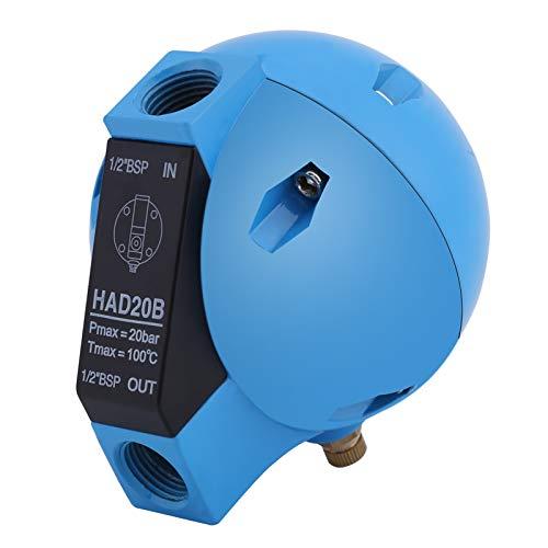 HAD20B Valvola di scarico a galleggiante tondo meccanico con filtro automatico dalla condensa 1/2BSP 400L/H 20Bar Nessun rumore