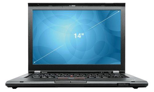 Lenovo ThinkPad T430s 35,8 cm (14,1 Zoll) Laptop (Intel Core i7 3520M, 2,9GHz, 8GB RAM, 180GB HDD, Intel HD 4000, DVD-RW, Win 7 Pro) schwarz