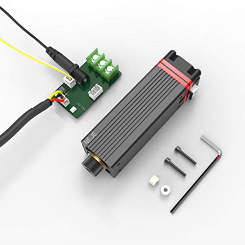 NEJE 20W Gravurmodul,Ausgangsleistung 5.5W, Geeignet für NEJE Master,Plus & Max Gravurmaschine,CNC Maschine/Router/Arduino/3D Drucker,usw. (5.5W Module+IAB)