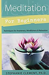 Meditation for Beginners: Techniques for Awareness, Mindfulness & Relaxation (For Beginners (Llewellyn's)) : Stephanie Clement