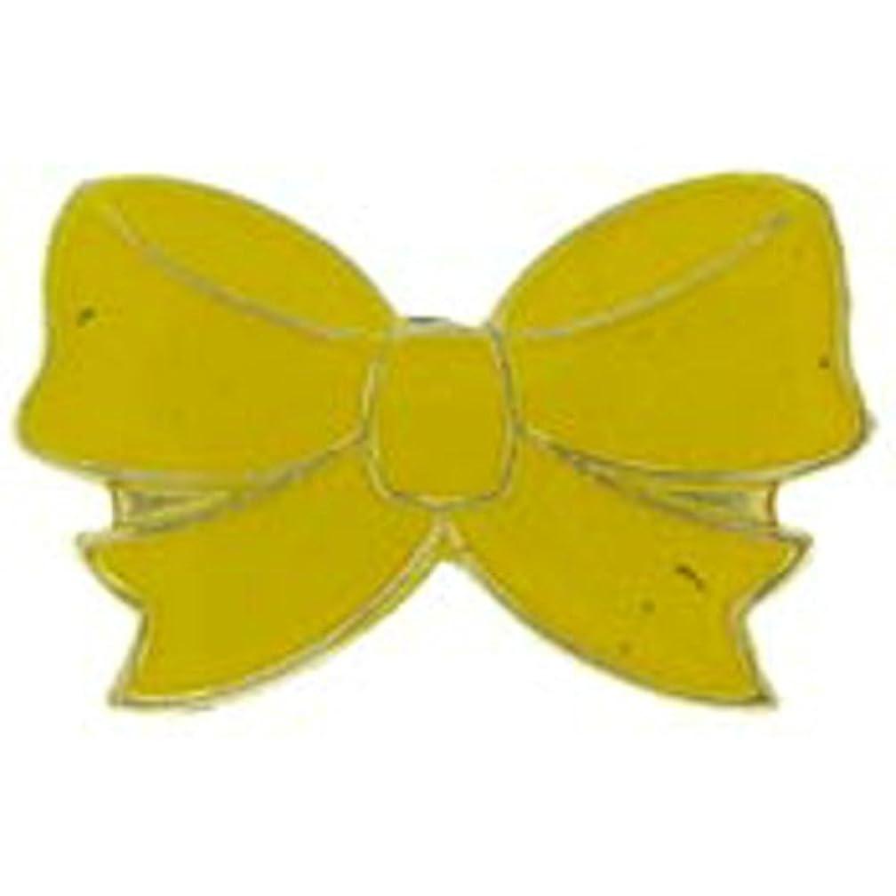EagleEmblems P62843 Pin-Yellow Ribbon (1'')