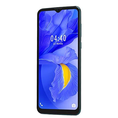 Gatuxe MIQOO S20Plus teléfono Inteligente Desbloqueado, teléfono Celular Desbloqueado con Huellas Dactilares de 6.7 Pulgadas, teléfono Inteligente de 4GB + 64GB para Android (Verde)(Enchufe de la UE)