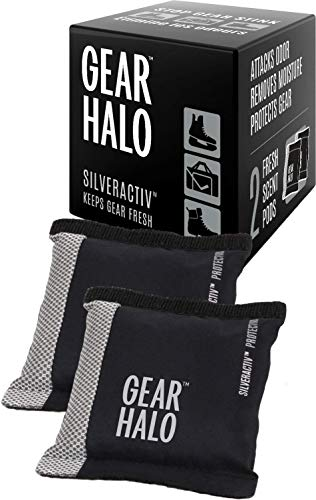 GEARHALO Sports Deodorizer Pods - Stops The Stink!