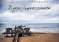 Ruegen-Impressionen (Tischkalender 2022 DIN A5 quer): Die Insel Ruegen und die Ostsee in Bildern (Monatskalender, 14 Seiten )