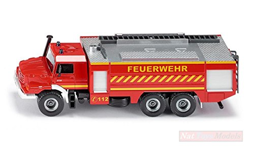 SIKU SK2109 Mercedes ZETROS Fire Engine 1:50 MODELLINO Die Cast Model Compatible con