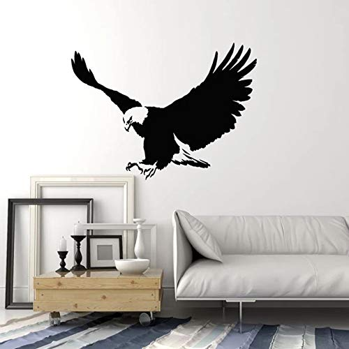 Flying Eagle pared calcomanía Big Bird estilo Tribal vinilo pegatina decoración del hogar
