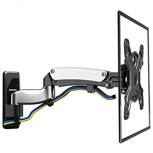 Soporte para TV Soporte para TV montado en la Pared Soporte para Monitor de TV de Movimiento Completo Soporte de Doble extensión para Pantalla Plana LED LCD de 50 '' -60 '' con Capacidad de Peso de