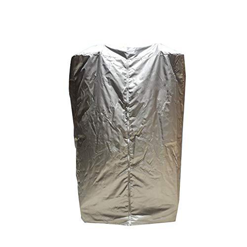 Loopband Hoes, Oxford Doek Sports Running Machine Protector voor binnen of buiten stofdicht waterdicht, Zilver,Folding,120x95x160cm