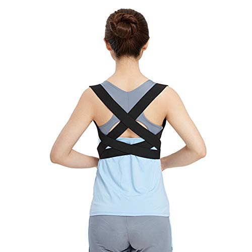 ZFF Posture Corrector Clavicle Support Brace for Upper Back & Shoulder, Best Brace Help to Improve Posture for Men & Women and Kids (Size : S)