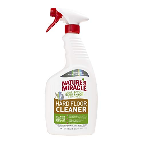 24-Oz Nature's Miracle Dual Action Hard Floor Pet Stain & Odor Remover $3.35 + FS w/ Amazon Prime or FS on $25+