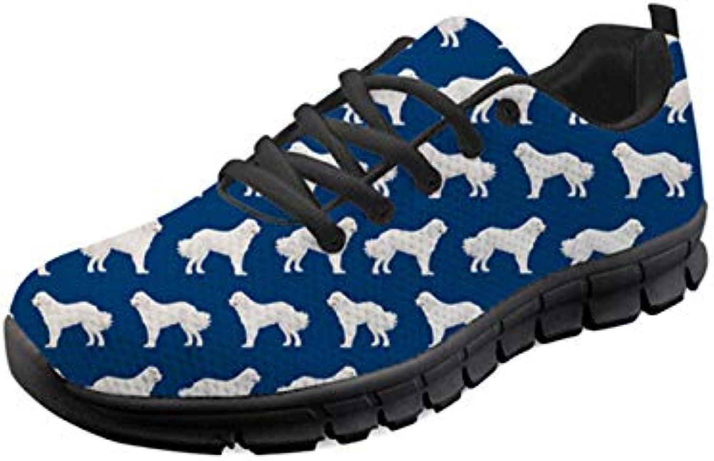 WHEREISART Women's Running Sneaker Lightweight Go Easy Walking Jogging Sports Running shoes Size 5-11