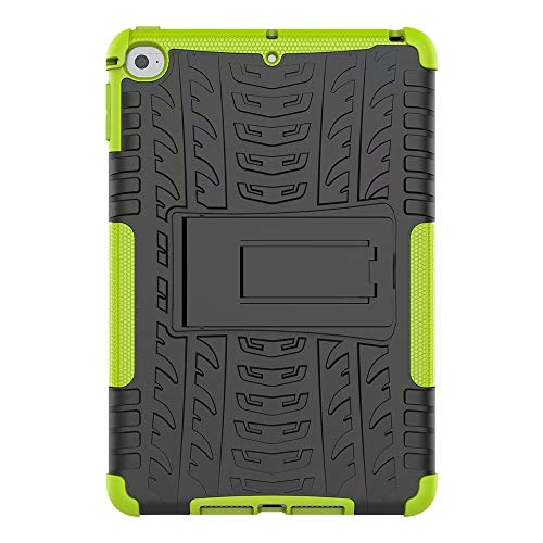 Tablet Case for Samsung Galaxy Tab S6 10.5 inch SM-T860/SM-T865 Shockproof Armour Tough Style Hybrid Dual Layer Full Body Rugged Bumper Armor Hard Cases with Kickstand Back Cover green