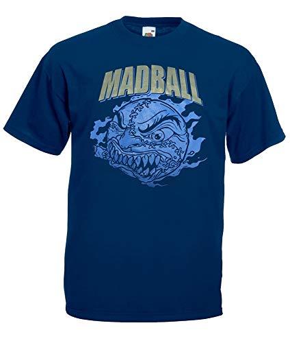 "Madball ""Classic Ball Navy"" T-Shirt, navy, S"