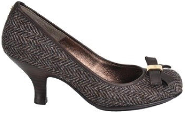 Sofft Womens Pump Heels Size 8 M 1065121 Vivian Black Suede