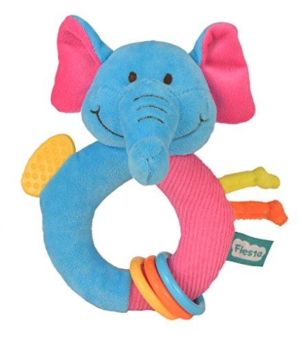Fiesta Crafts - T-2789 - Bébé - Anneau De Dentition - L'éléphant