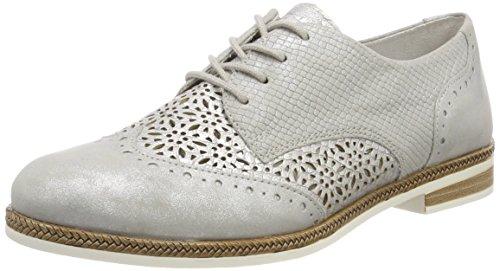Remonte Damen D2601 Oxford, Silber (Silber/Shark), 39 EU