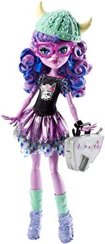 Monster High Mattel CJC62 - Schüler-Graustausch Kjersti Trollson