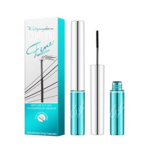 NIVNI Mascara, Mascara 4D Lash Épaississant Mascara Imperméable Imperméable à l'eau pour Un Maquillage des Yeux Charmant
