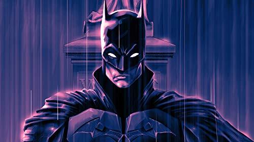 Amrzxz 1000 Piezas de Rompecabezas sin comprimir para Adultos「Batman Guerrero」Desafío del Cerebro del Juego de Juguete