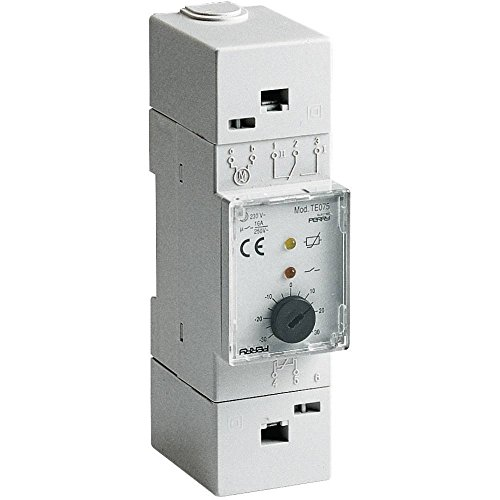 Legrand LEG76720 Mosaic Thermostat dambiance /électronique 5 /à 30/° C 2 modules Blanc