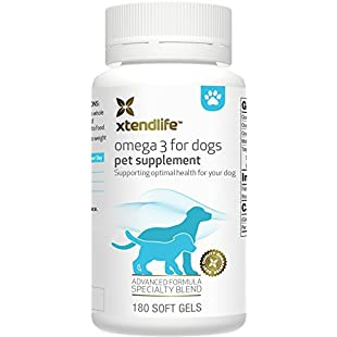 Omega 3 for Dogs by Xtend-Life   High-Strength Human-Grade Fish Oil For The Health Of Your Dog's Joints, Fur, Heart And Brain (120 Easy To Swallow Gels):Seks-irani