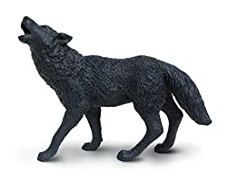 Safari Ltd. Wild Safari North American Wildlife Black Wolf