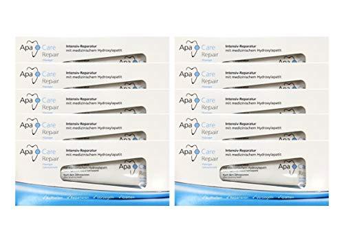 10x ApaCare Repair Intensiv-Reparatur Gel Zahncreme 30ml