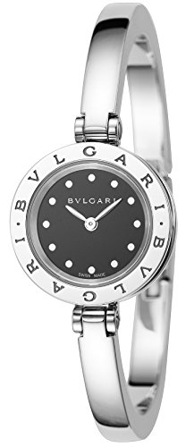 [ブルガリ] 腕時計 B-ZERO1 ブラック文字盤 BZ23BSS.S 並行輸入品 シルバー