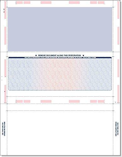 Pressure Seal Check - Z Fold (1000 Sheets) (8.5 X 11) 28#
