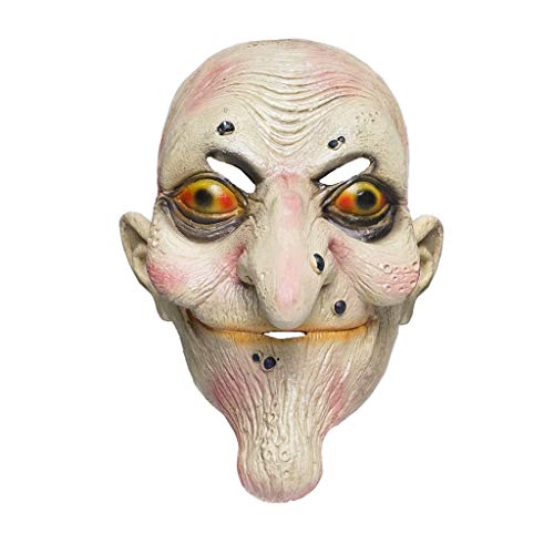 EraSpooky Adulto Máscara Halloween Látex Fiesta Mascarilla Horror