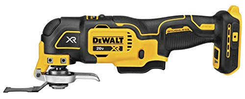DEWALT 20V MAX XR Oscillating Multi-Tool, Variable Speed, Tool Only...
