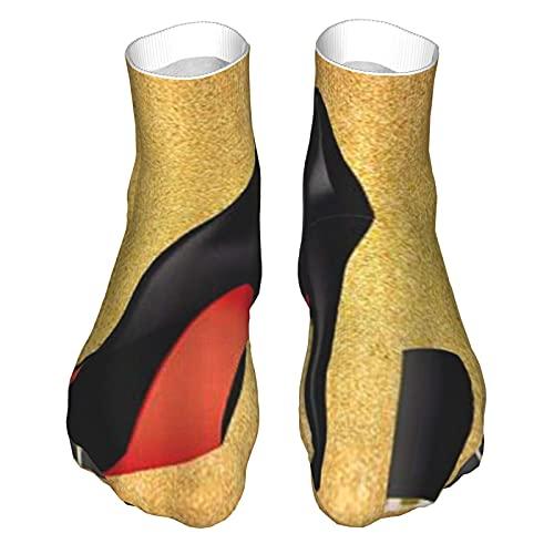 Lipstick High Heel Shoes Socks For Men Women, Funcool Socks For Sports, Running, Training, Hiking