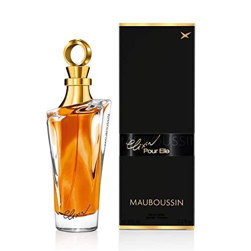 Mauboussin - Eau de Parfum Femme - Elixir Pour Elle - Senteur Orientale & Gourmande - 100m