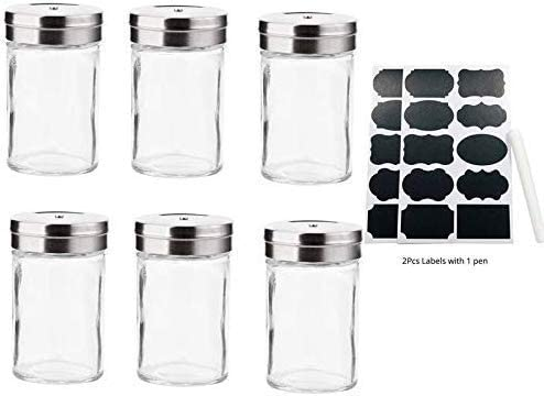 Long-awaited Condiment Bottleskitchen Glass Salt Seasoning Bottle 12Pcs 3 Phoenix Mall 9 6