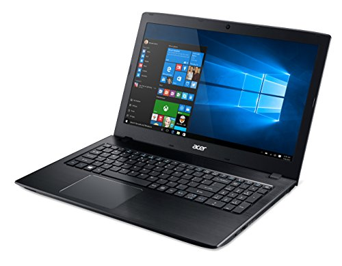 Acer Aspire E 15 E5-575G-57D4 15.6-Inches Full HD Notebook (7th Gen Intel Core i5-7200U, GeForce 940MX, 8GB DDR4 SDRAM, 256GB SSD, Windows 10 Home), Obsidian Black