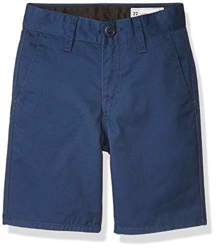 Volcom Frickin Chino-Shorts, für Kinder, Service Blue, 26