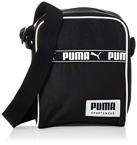 PUMA Campus Portable Mochilla, Unisex Adulto, Black, OSFA