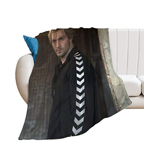 DSSDD Aaron Taylor-Johnson - Coperta ultra morbida in micropile per casa, divano, letto, divano, letto, divano, caldo, leggero, per tutte le stagioni, con stampa 3D, per bambini e adulti, 15