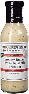 Terrapin Ridge Farms Dressing, Creamy Italian White Balsamic, 12 Ounce