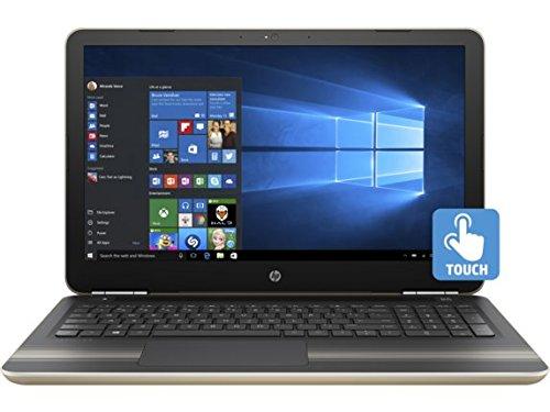 HP Pavilion 15z Modern Gold Laptop PC - AMD A9-9410 Dual Core, Radeon R5 Graphics, 15.6-Inch WLED Touchscreen Display (1920x1080), Windows 10 Home, Backlit Keyboard, 512GB Performance SSD, 16GB RAM