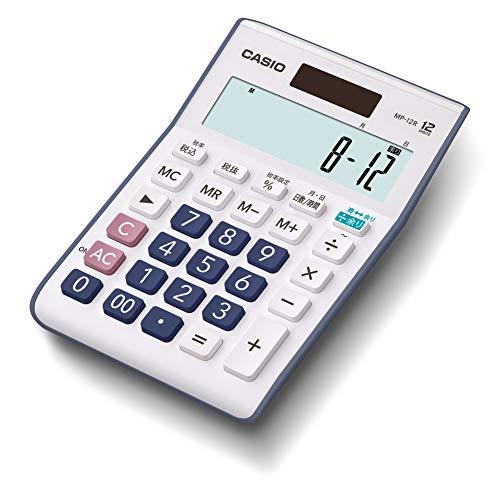 カシオ 余り計算電卓 ミニジャストタイプ 12桁 MP-12R-N