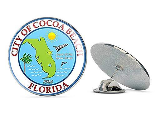NYC Jewelers City of Cocoa Beach Florida Seal (Logo ic fl car Window) Metal 0.75