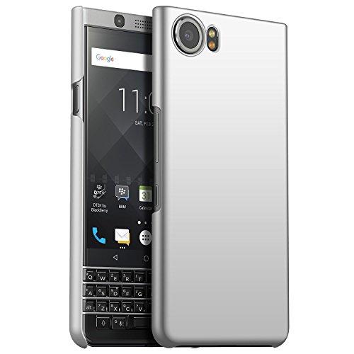 CiCiCat BlackBerry Keyone Hülle Handyhüllen, Hard PC Back Cover Hülle Schutz Hülle Tasche Schutzhülle Für BlackBerry Keyone. (BlackBerry Keyone 4.5'', Silber)