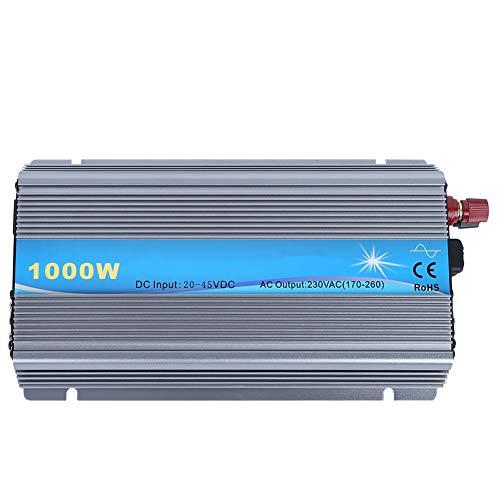 Wechselrichter, Solar Micro Grid-angeschlossene Geräte, PV 1000W Eingang 20-45V Ausgang 230V, Aluminiumlegierung Shell SP-MGI-1000W Solar Grid Tie Inverter(EU Plug 220V)