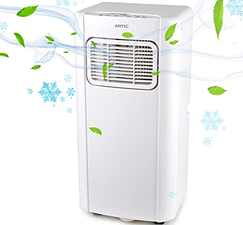 Aire acondicionado portátil con luz UV 4 en 1 ARTIC UV 7000 Btu | 320m3 timer 24h | 1750 Frigorías 2050w