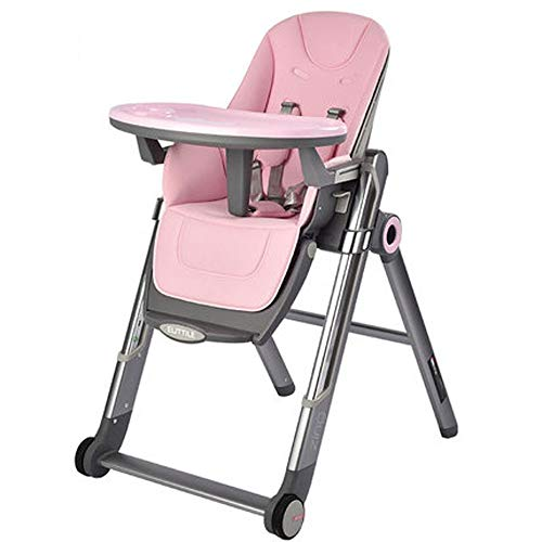 Check Out This MASODHDFX Princess Pink Folding High Chair Baby Dining Chair Kids Table and Chair Mul...