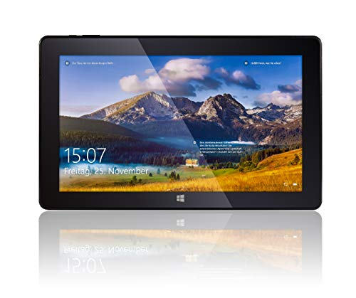 Fusion5 T60 64GB Tablet PC - 11.6' Windows Tablet PC Intel Atom x5-Z8350 Quad Core Processor Full HD IPS Windows 10 S Tablet Computer