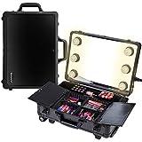 SHANY Mini Studio ToGo Makeup Case with Lights - Black